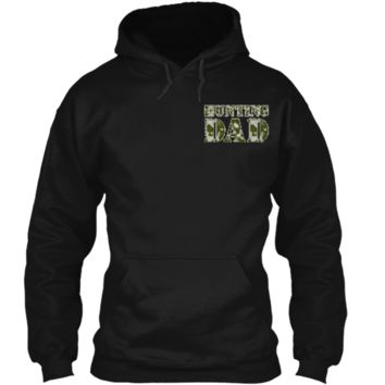 I'm Raising My Hunting Buddy For Hunting Dad's Apparel Pullover Hoodie 8 oz