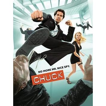 Chuck Poster Standup 4inx6in