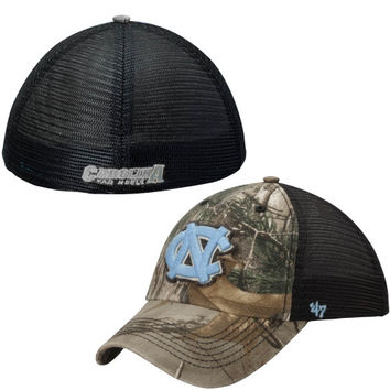 North Carolina Tar Heels '47 Brand Huntsman Flex Hat – Carolina Blue/Realtree Camo