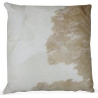 Palomino Cloud Hide Pillow, Decorative Pillows