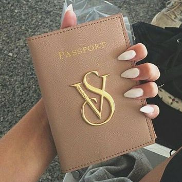 Victoria's secret Passport packages Documents package Passport holder Apricot B
