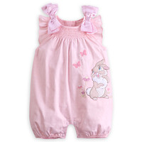 Miss Bunny Woven Romper for Baby