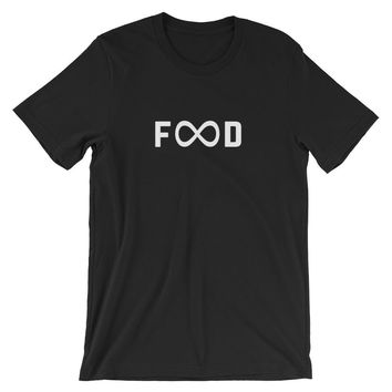 Unlimited Food Infinity Symbol Unisex T-Shirt