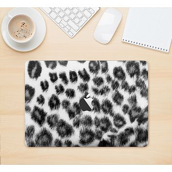 "The Real Snow Leopard Hide Skin Kit for the 12"" Apple MacBook"
