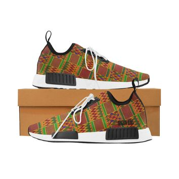 Women Kente Print Shoes