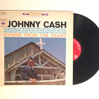 LP Vinyl Johnny Cash Hymns From The Heart Album Record Sixties Folk Rock I Got My Shoes
