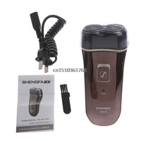New Deluxe Rotary 2D Rechargeable Men Man's Cordless Electric Shaver Razor #Y05# #C05#