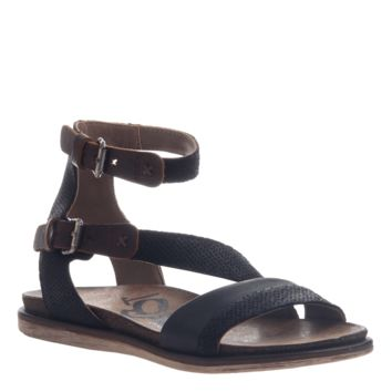 New OTBT Women's Sandals March On in Black