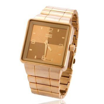 The 14K Gold SQRD Watch