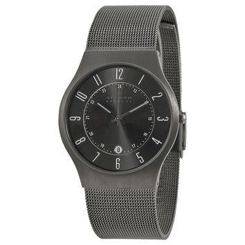 Skagen Titanium Mesh Mens Watch 233XLTTM