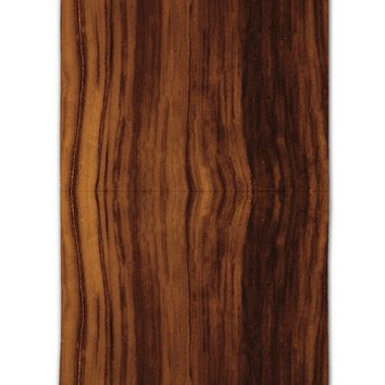 "Medium Wood Look 11""x18"" Dish Fingertip Towel All Over Print by TooLoud"