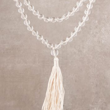 High-Energy Clear Quartz Mala
