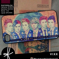 VIXX Illustration case (available in various devices)