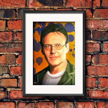 Rupert Giles  Buffy the Vampire Slayer Anthony Stewart Head Horror Television Art Work Print