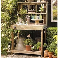 Potting Shed Bar | Pottery Barn