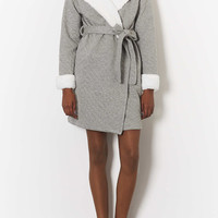 Quilted Robe - Sleepwear - Clothing - Topshop USA