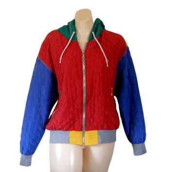 Silk Bomber Jacket Women Spring Jacket Hooded Jacket 90s Jacket Light Jacket Lightweight Jacket Quilted Jacket Green Jacket Yellow Jacket