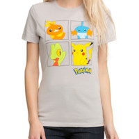 Pokemon Hoenn Group Boxes Girls T-Shirt 3XL