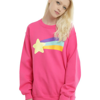 Disney Gravity Falls Mabel's Rainbow Star Sweater Sweatshirt
