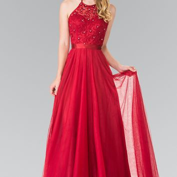Sparkly long bridesmaid dress GL1475