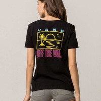 VANS Palms And Sun Womens Tee