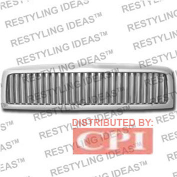 Dodge 1994-2001 Dodge Ram Chrome Vertical Bar Abs Grille Performance
