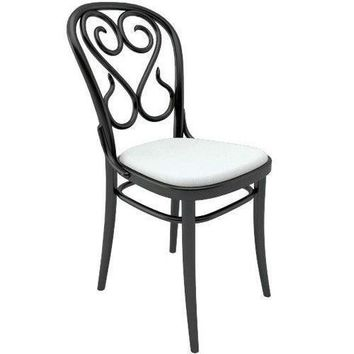 August Thonet No 4 Bentwood Side Chair (Upholstered)