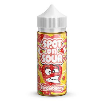 Spot On Sour E-Liquid - Strawberry