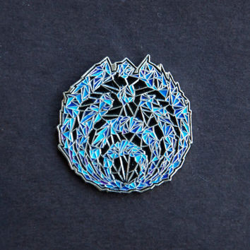 "Bassnectar ""Blue Dream - SpaceNectar"" Pin"