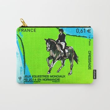 2014 FEI World Equestrian Games in Normandy DRESSAGE Carry-All Pouch by lanjee