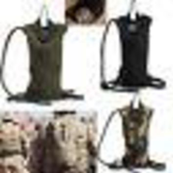 Water Backpack Bag Cycling Hiking Pouch 3 Liter Hydration Pack Bladder Survival