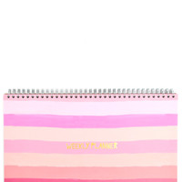 Sunset Stripe Weekly Planner