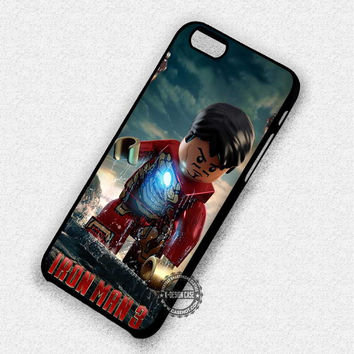 Stark Lego Iron Man - iPhone 7 6 5 4 Cases & Covers