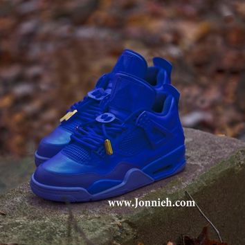 Air Jordan 4 Blue December Jsu Sneaks Online Store