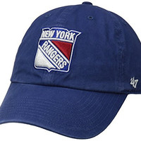 NHL New York Rangers '47 Clean Up Adjustable Hat, Royal, One Size