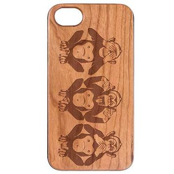 Three Wise Monkeys Phone Case