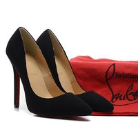 CL Christian Louboutin Fashion Heels Shoes-13