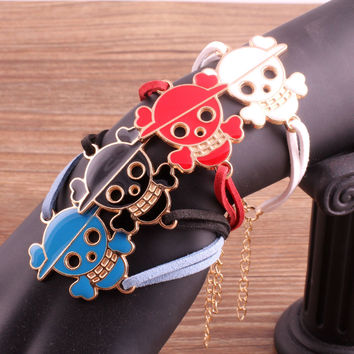 Hot Sale Great Deal New Arrival Awesome Shiny Gift Stylish Vintage Skull Strong Character Fashion Accessory Bracelet [6057204609]