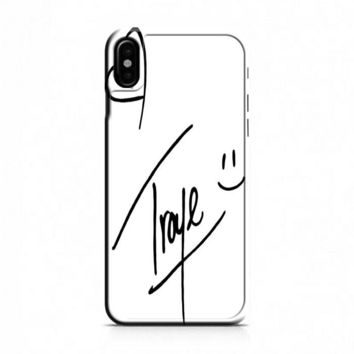 Troye Sivan Signature iPhone X Case
