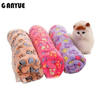 Ganyue Small Pet Dog Blanket Cat Dog Mats Breathable Soft Bed Blanket For Dog Cat Puppy Kitten Warm Blanket
