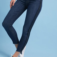 Mother The Stunner Zip Ankle Step Fray Ultra High-Rise Jeans