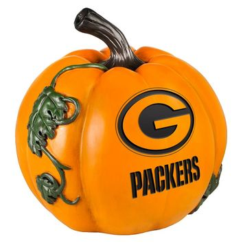 Green Bay Packers Logo Pumpkin (Pkr Team)