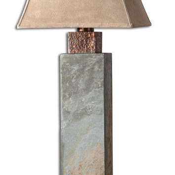 Uttermost Tall Slate Table Lamp - 26308