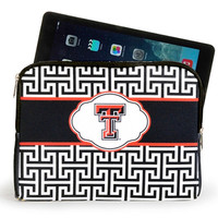 Texas Tech Red Raiders iPad/Tablet Sleeve - http://www.shareasale.com/m-pr.cfm?merchantID=7124&userID=1042934&productID=541927897 / Texas Tech Red Raiders