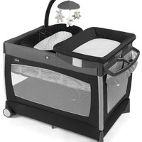 Chicco Lullaby 3 Stage Portable Playard Crib Bassinet Changing Table Orion