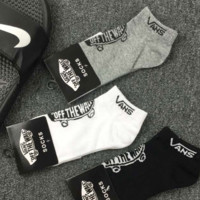 Vans Off The Wall Unisex Lovers' Sports Cotton Socks