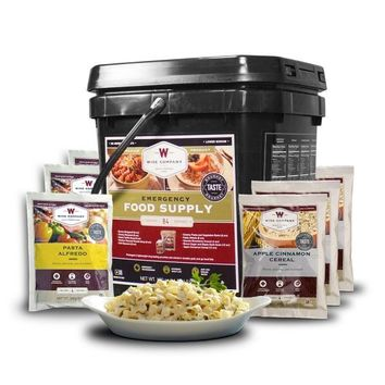 Freeze Dried Breakfast and Entree Bucket - 84 Servings/1-Month