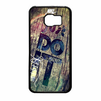 Nike Just Do It Wood Samsung Galaxy S6 Case