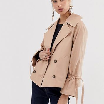 ASOS DESIGN cropped mac | ASOS