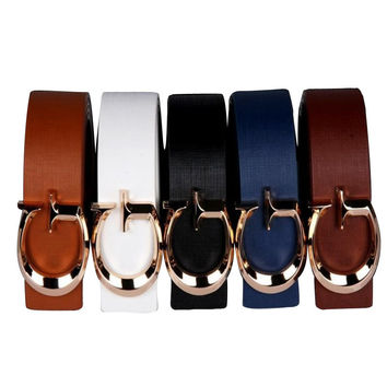 Women belt brand designer leather high quality faux leather belt for female casual luxury brand belts women name brand belts